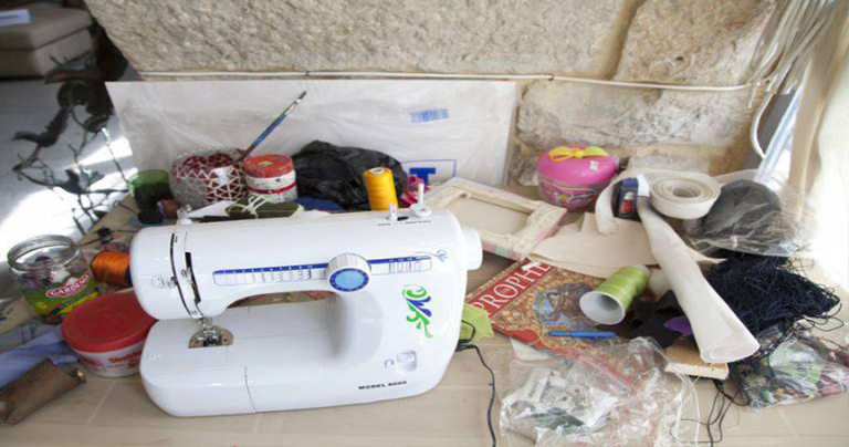 sewing machine business for poor families crisis aid