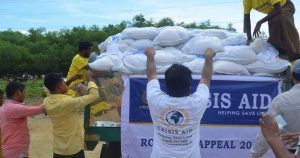 Rohingya Refugee Food Parcel