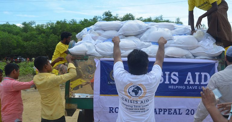 Rohingya Refugee Food Parcel