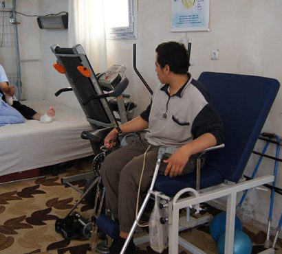 Rehabilitation – Helping the Injured of Barrel Bombs