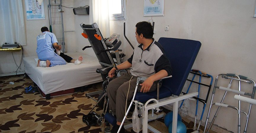 Rehabilitation – Helping the Injured of Barrel Bombs