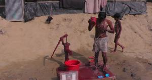 Rohingya Refugee Ladies Washroom