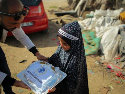 1000 Hot meals for gaza