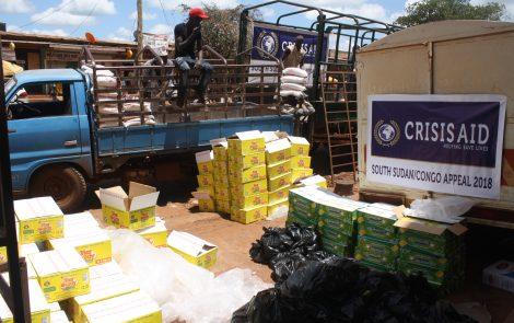 South Sudan & Congo Food Parcel
