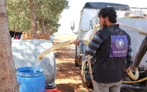 Syrian Water Tanker Appeal