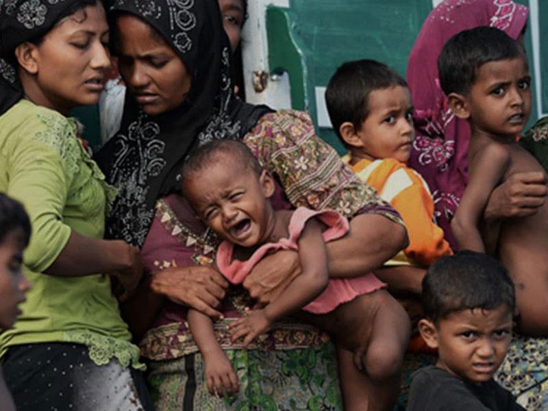 Rohingya-Refugee-shelters
