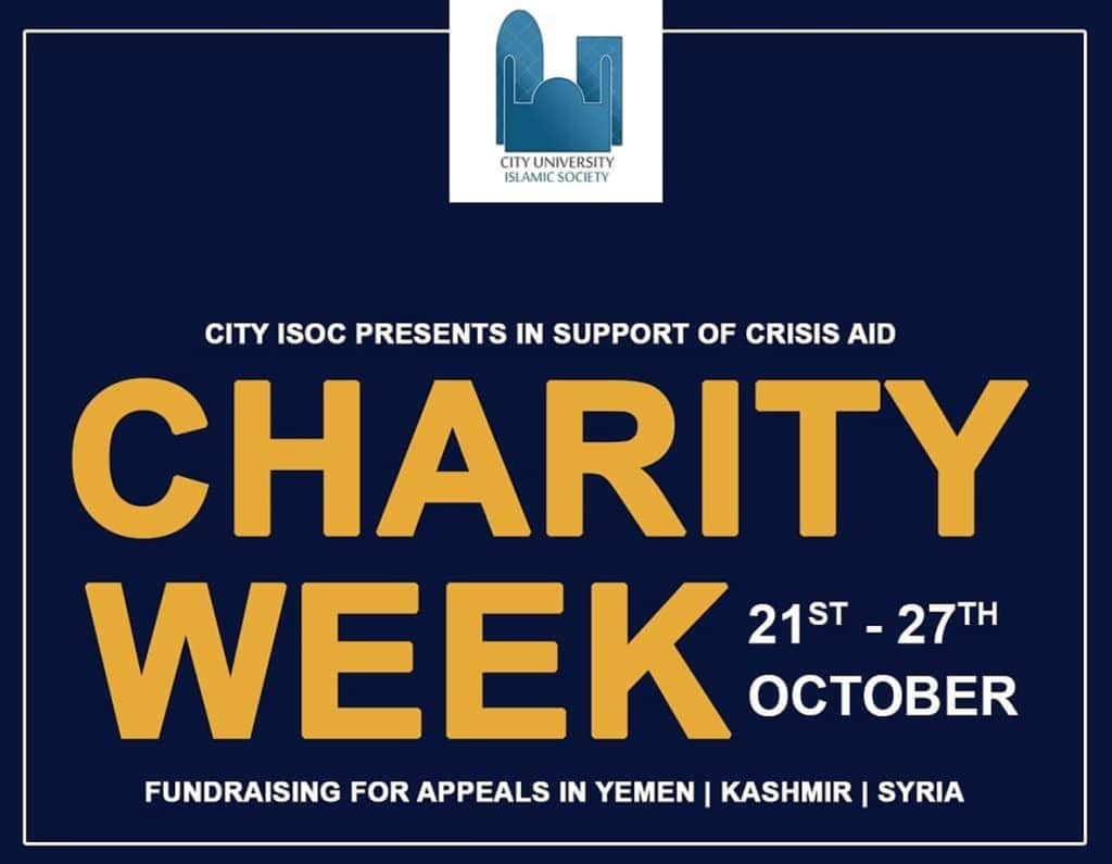 Charity Week ISOC