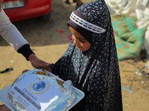 Hot meals for Gaza