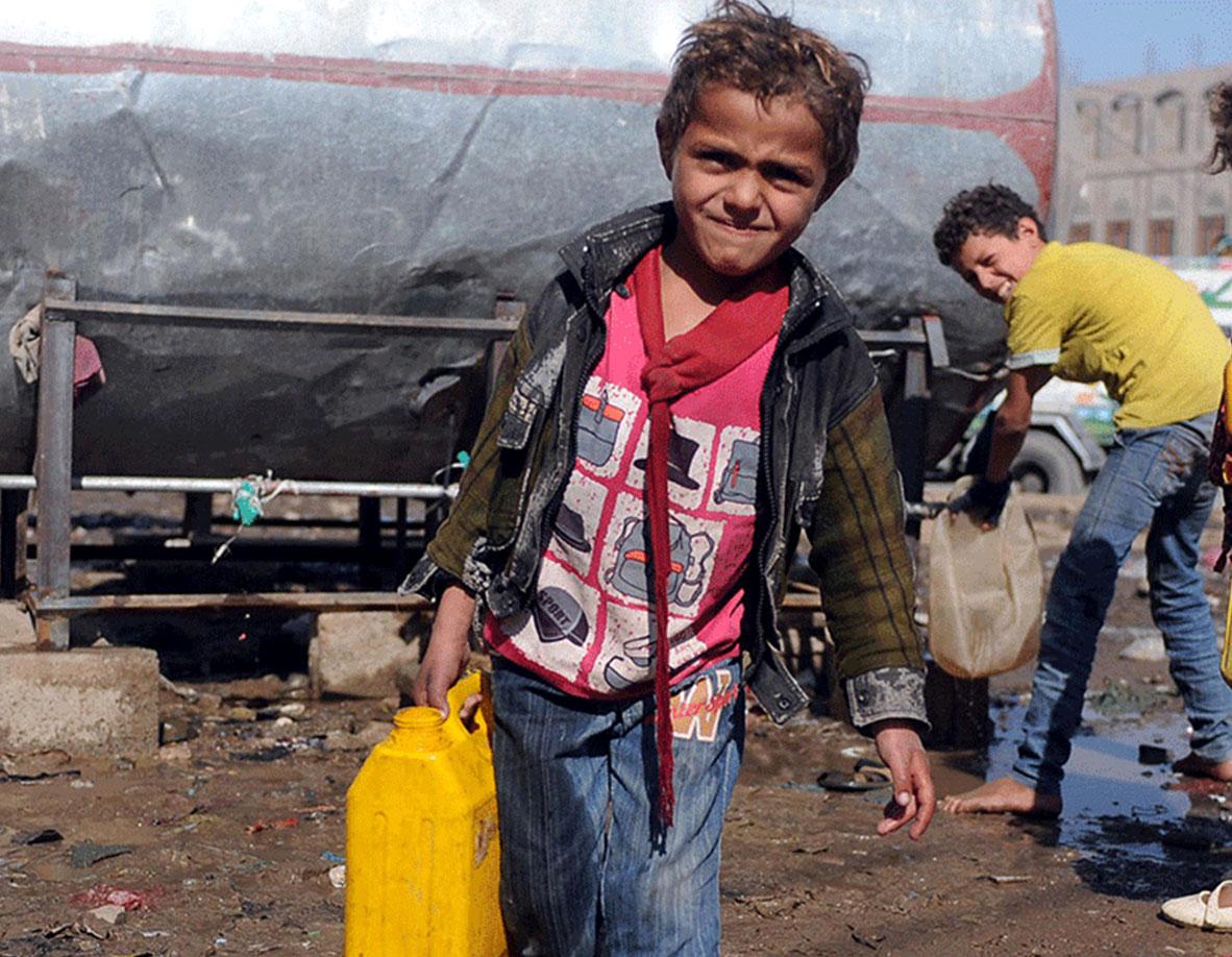 Yemen Water Well Crisis Aid