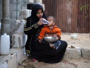 Gaza water tanker