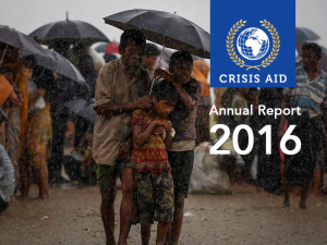 Crisis Aid Annual Reports 2016