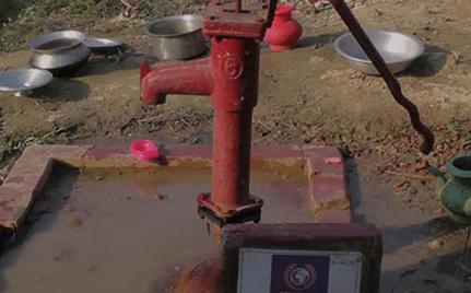 Rohingya Water Pump