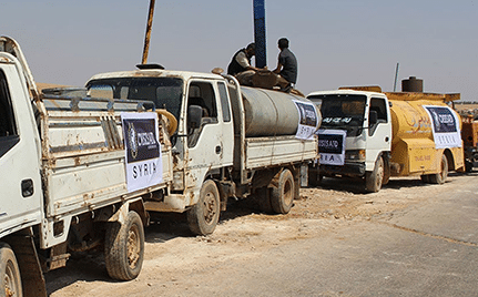 Syria Water Tanker