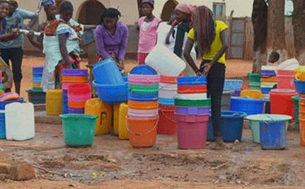 Africa Water Tanker